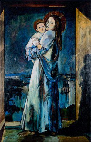 Obraz (45×29 cm), druk pigmentowy, bez ramy
